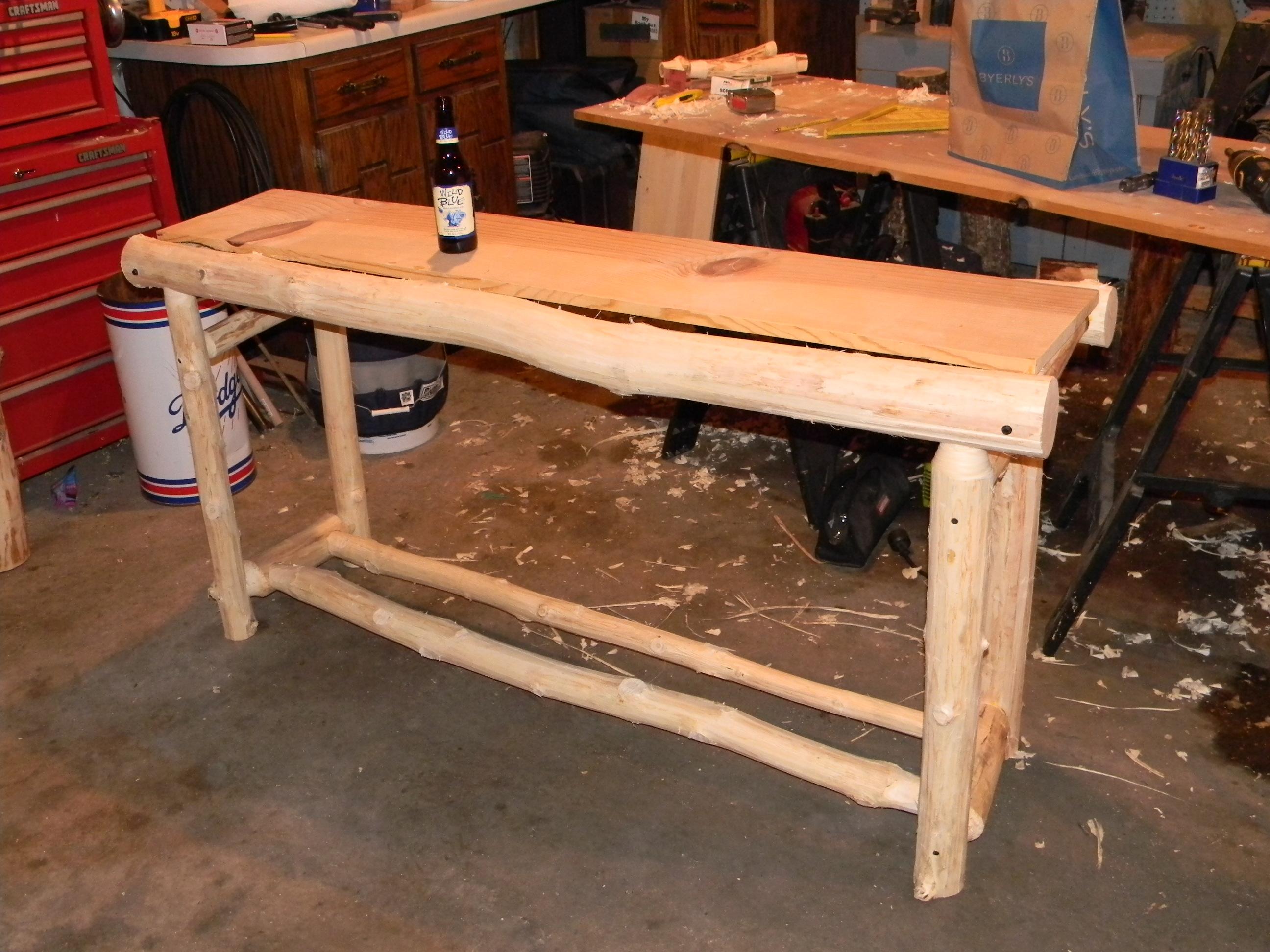 Ordinary Tools For Making Log Furniture #7: Woodworking Log Furniture Making