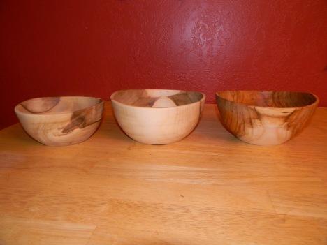Warped bowls